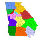 Fulton County/District 10 map